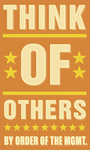 Think of Others -  John W. Golden - McGaw Graphics