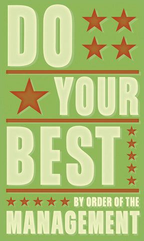 Do Your Best -  John W. Golden - McGaw Graphics