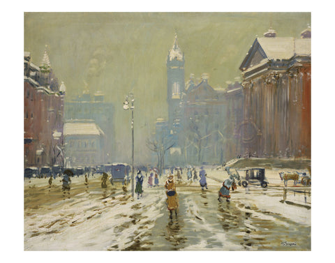 Copley Square, Boston, about 1908