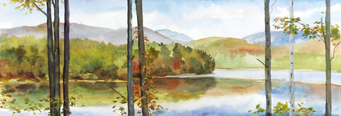 Autumn Lake I -  Elissa Gore - McGaw Graphics