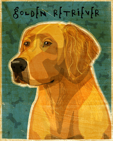 Golden Retriever (NEW) -  John W. Golden - McGaw Graphics