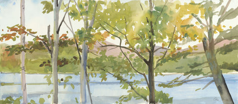 Elissa Gore - Lake Study (right)