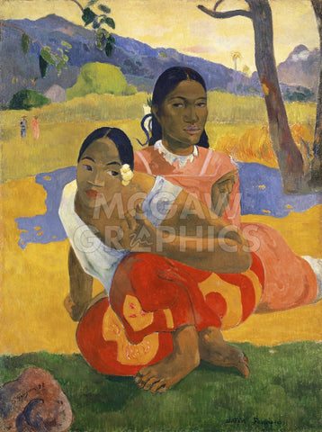 When Will You Marry?, 1892 -  Paul Gauguin - McGaw Graphics