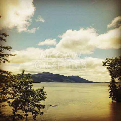 Lakescape Lake George -  Gizara - McGaw Graphics