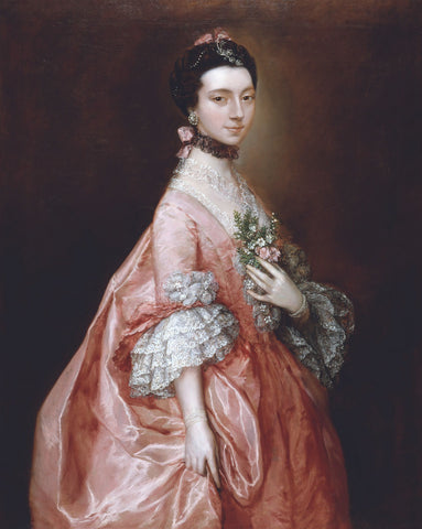 Mary Little, Later Lady Carr, circa 1763 -  Thomas Gainsborough - McGaw Graphics