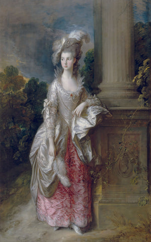 The Honourable Mrs. Graham (1757-1792), 1775 -  Thomas Gainsborough - McGaw Graphics