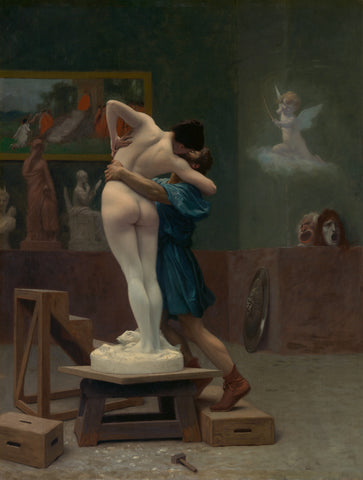 Pygmalion and Galatea, ca. 1890 -  Jean-Léon Gerome - McGaw Graphics