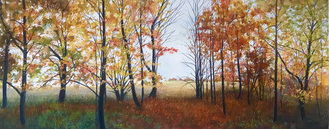 Autumn Walk -  Elissa Gore - McGaw Graphics
