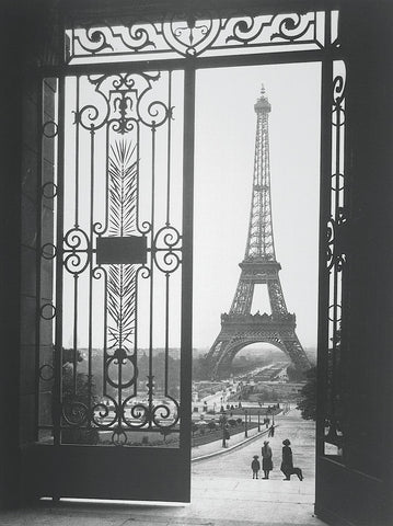 The Eiffel Tower from the Trocadero -  Gall - McGaw Graphics