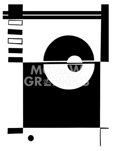 Ying & Yang -  Dominique Gaudin - McGaw Graphics