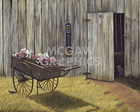 The Flower Cart -  Kathleen Green - McGaw Graphics