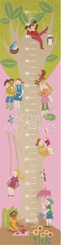 Tree House Growth Chart -  Janell Genovese - McGaw Graphics