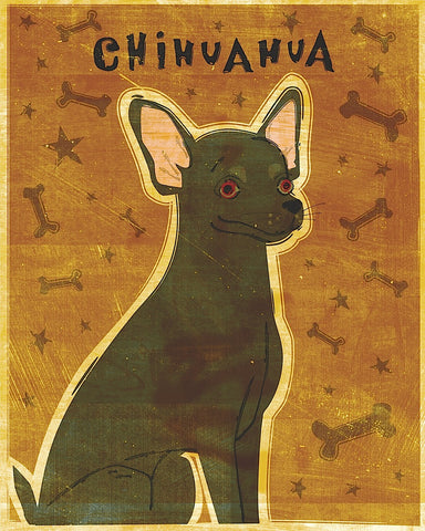 Chihuahua (black) -  John W. Golden - McGaw Graphics