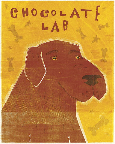Lab (chocolate) -  John W. Golden - McGaw Graphics