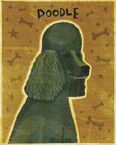 Poodle (black) -  John W. Golden - McGaw Graphics