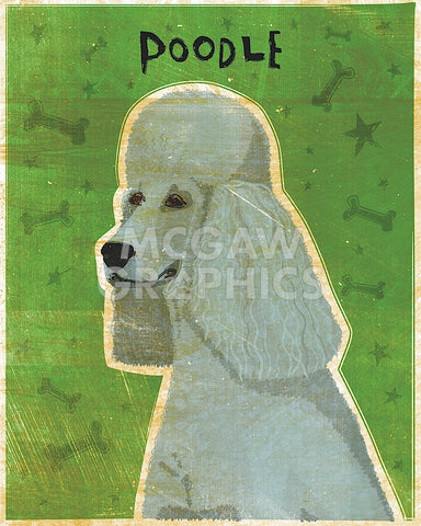 Poodle (grey) -  John W. Golden - McGaw Graphics