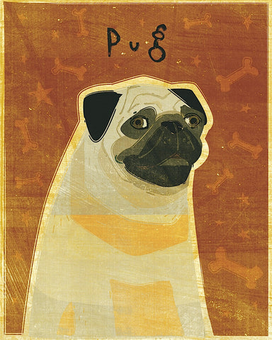 Pug -  John W. Golden - McGaw Graphics