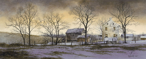 Evening at Brenner's Farm -  Ray Hendershot - McGaw Graphics