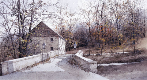 The Mill Bridge -  Ray Hendershot - McGaw Graphics