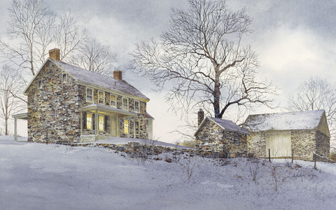 Evening Quiet -  Ray Hendershot - McGaw Graphics