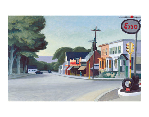 Portrait of Orleans, 1950 -  Edward Hopper - McGaw Graphics