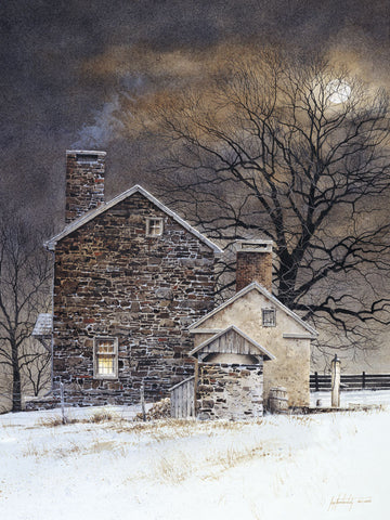 Blue Moon -  Ray Hendershot - McGaw Graphics