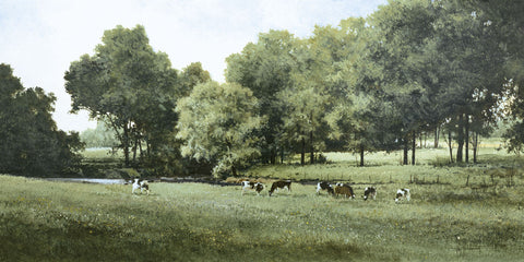 Grazing -  Ray Hendershot - McGaw Graphics