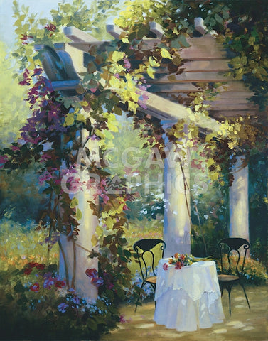Carolyne Hawley - Afternoon in the Garden