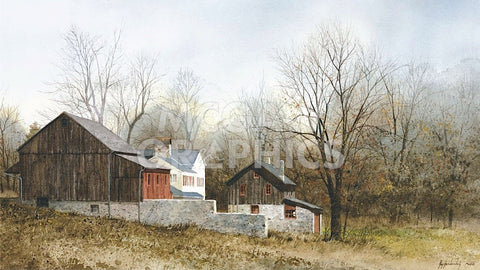North of New Hope -  Ray Hendershot - McGaw Graphics