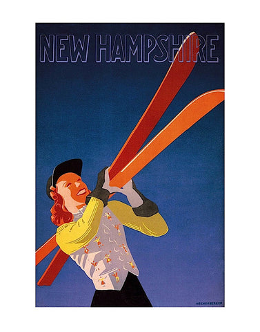 New Hampshire -  Hechenberger - McGaw Graphics