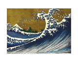 Big Wave (from 100 views of Mt. Fuji) -  Katsushika Hokusai - McGaw Graphics