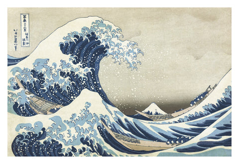 The Great Wave at Kanagawa -  Katsushika Hokusai - McGaw Graphics