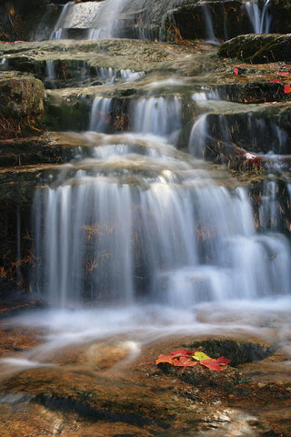 Waterfall Whitecap Stream -  Michael Hudson - McGaw Graphics