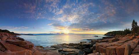 Acadia Sunrise -  Michael Hudson - McGaw Graphics