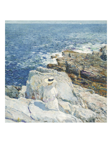 The South Ledges, Appledore, 1913 -  Childe Hassam - McGaw Graphics