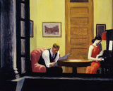 Room in New York, 1932 -  Edward Hopper - McGaw Graphics