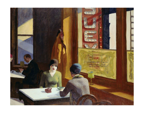 Chop Suey, 1929 -  Edward Hopper - McGaw Graphics