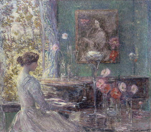 Improvisation, 1899 -  Childe Hassam - McGaw Graphics