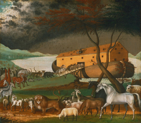 Noah's Ark, 1846 -  Edward Hicks - McGaw Graphics
