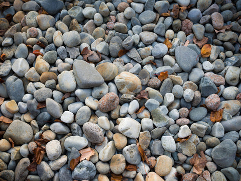 Pebbles, Little Hunters Beach -  Michael Hudson - McGaw Graphics