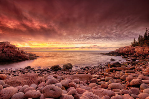 Sunrise, Monument Cove -  Michael Hudson - McGaw Graphics