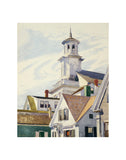 Methodist Church Tower, 1930 -  Edward Hopper - McGaw Graphics