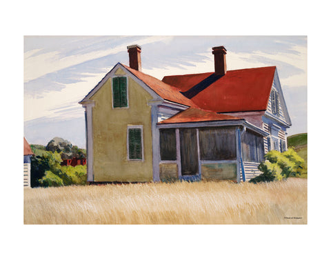 Marshall's House, 1932 -  Edward Hopper - McGaw Graphics