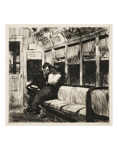 Night on the El Train, 1918