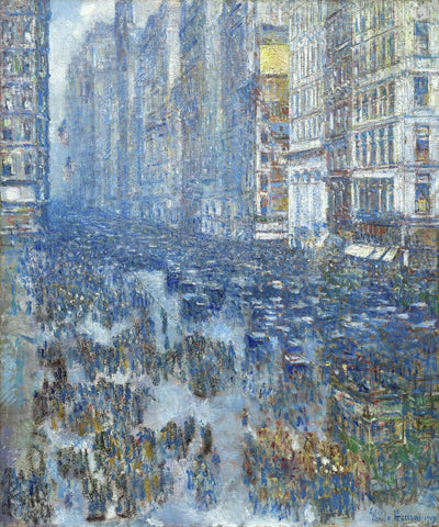 Childe Hassam - Fifth Avenue, 1919