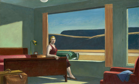 Edward Hopper - Western Motel, 1957