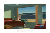 Western Motel, 1957 -  Edward Hopper - McGaw Graphics