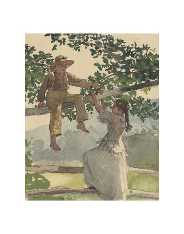 On the Fence, 1878