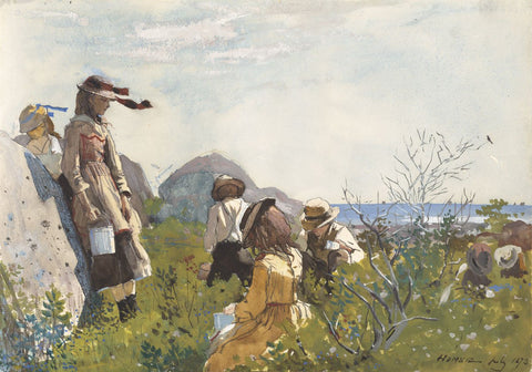 Winslow Homer - Berry Pickers, 1873