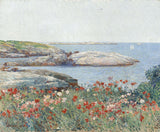 Childe Hassam - Poppies, Isles of Shoals, 1891